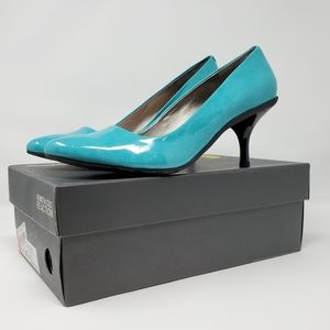 Worn Once! Aqua Kenneth Cole Hill Top PA Heels